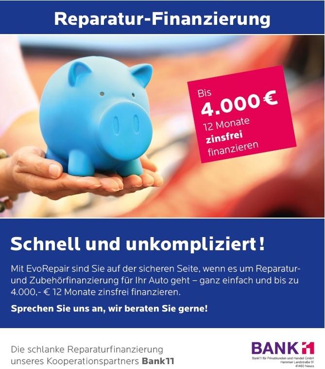 Reparaturfinanzierung | KFZ-Finder